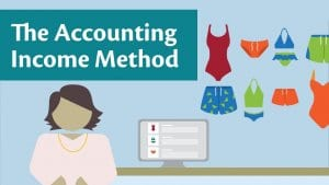 The Accounting Income Method (AIM)