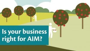 Is your business right for AIM?